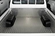 Cubierta protectora de aluminio para Hilux Doble Cabina