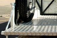Cubierta protectora de aluminio para Land Cruiser79Doble Cabina Pick-Up