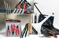 Essential tool box with 14 assorted tools