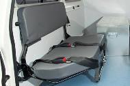 Land Cruiser 78 Hardtop ambulance attendant seat