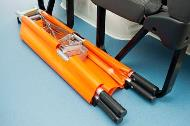 Duo-folding secondary stretcher