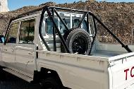 Land Cruiser 79 Double Cabin Pick-Up roll cage