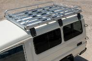 70 Series roof rack assembly and fitting instructions