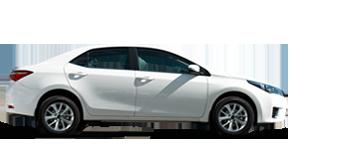 Corolla Sedan 1.6L Petrol, 5 seater, LHD