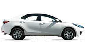 Sedan Corolla, 1,6L sans plomb, 5 places, Volant à gauche