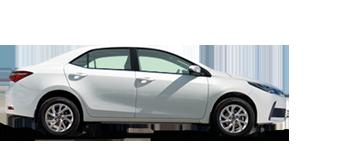 Corolla Automatic 1.8L Petrol, 5 seater, LHD