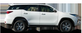 Fortuner 2.8 l turbo diesel 7 places assises, conduite à gauche