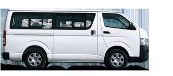 Minibus Hiace, Turbo diésel 2,5L