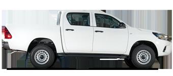Hilux Volant à gauche, Turbo diésel 2,4L, 5 places
