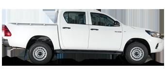 Hilux Volant à droite, Turbo diésel 2,4L, 5 places