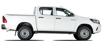 Hilux Rechtslenker 2,4L Turbodiesel 5 Sitze