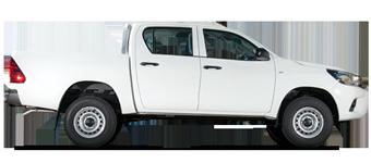 Hilux Volant à droite, Turbo diésel 2,5L, 6 places