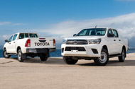 2 Upgraded Hilux Models in Stock