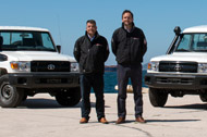 Land Cruiser 70 series – Jan and Piers discuss the many fleet management advantages of this model range