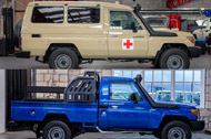 Special Ambulance and Security Vehicle conversions
