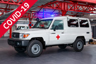 TGS Ambulance conversions – COVID-19 Standard Ambulance Equipment