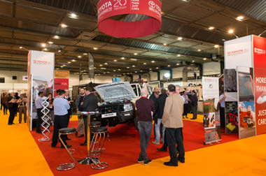 TGS attends AidEx 2017