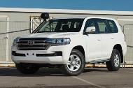 TGS receives the latest Land Cruiser 200 models