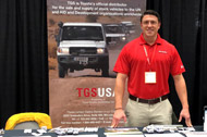 TGS USA at Global Missions Exhibition in Louisville, Kentucky