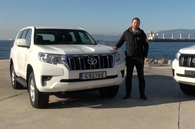 The New Prado TXL test drive